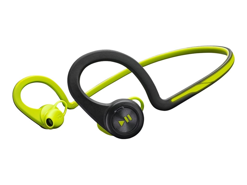Plantronics Backbeat Fit Headphones- Green (S 3), 200460-01