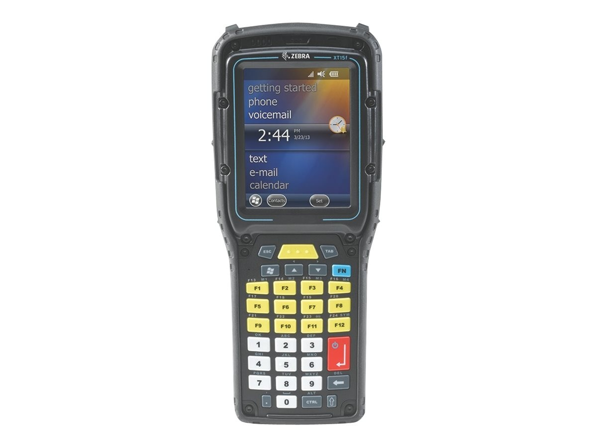 Zebra Omnii XT15 WL Handheld Mobile Computer w  Long Range 2D Imager, Win CE 6.0, OB13110010091101, 31935159, Portable Data Collectors