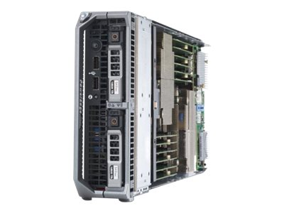 Dell PowerEdge VRTX 5U Tower Chassis with (2x) M520 Server Nodes (2x) Xeon 6C E5-2420 1.9GHz Per Node, 461-9352, 16348327, Servers - Blade