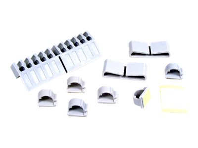 Belkin Computer Cable Clips, White, F8B021C, 31007416, Cable Accessories