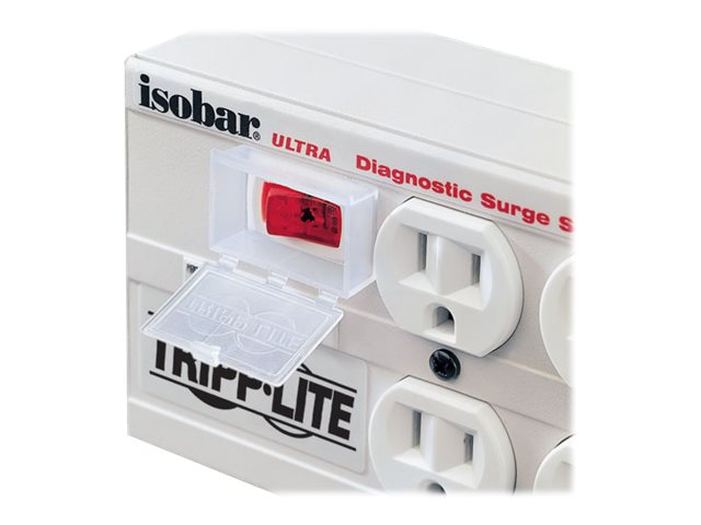 Tripp Lite Isobar Ultra Surge 12-Amp (6) Outlet 3330 Joules Hospital Grade, ISOBAR6ULTRAHG