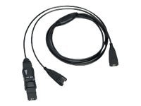 VXI VXI Y-cord-P with Inline Mute and Volume Controls, 202340, 10463332, Headsets (w/ microphone)