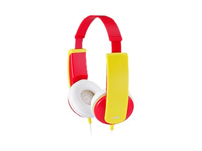 JVC Kids Headphones - Red, HA-KD6-R
