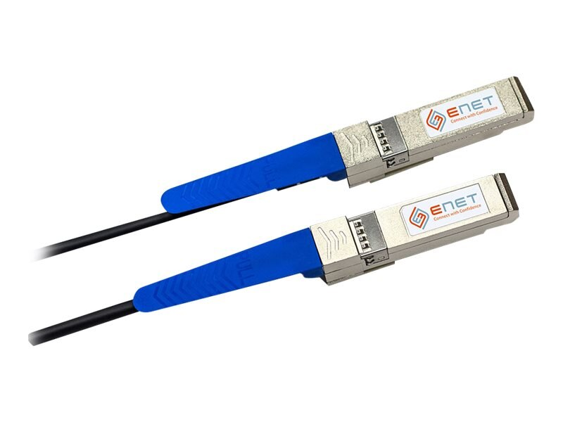 NetApp to SonicWall Compatible 10GBASE-CU SFP+ Passive Direct-Attach Cable, 3m, SFC2-NASW-3M-ENC