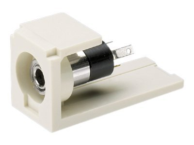 Panduit Mini-Com 3.5mm Stereo Connector and Coupler Module, CM35MSSWH, 5661668, Cable Accessories