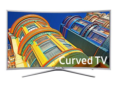 Samsung 54.6 K6250 Full HD LED-LCD Curved TV, Silver, UN55K6250AFXZA
