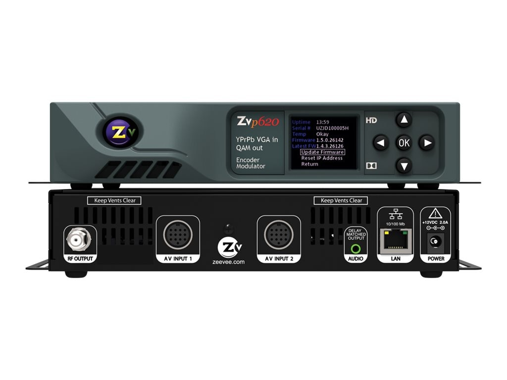 ZeeVee ZVPRO620 HD Video Distribution over Coax, ZVPRO620-NA