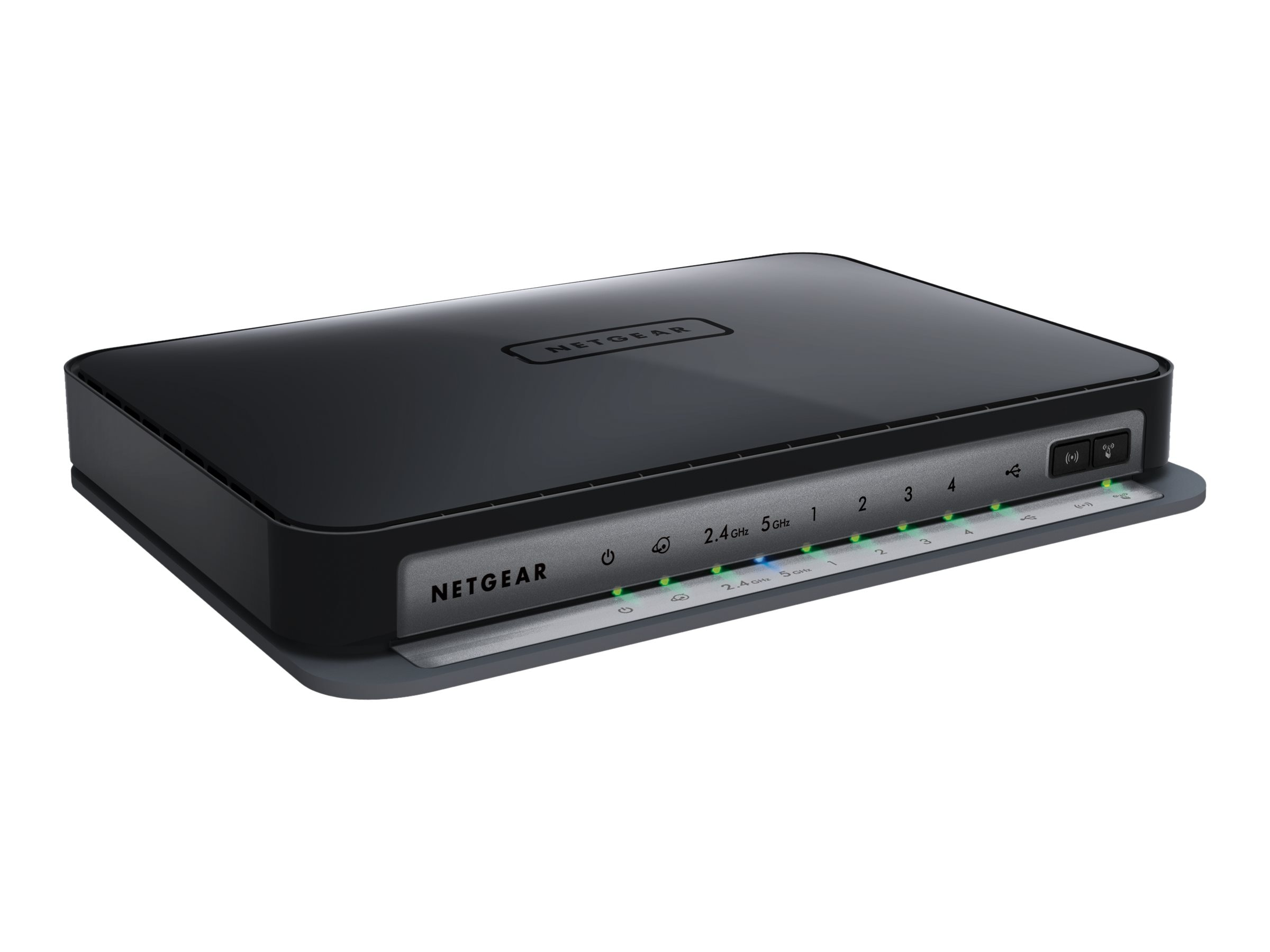 Netgear N750 Dual-Band Wireless-N Gigabit Router with 4-Port Ethernet Switch, WNDR4300-100NAS, 14711111, Wireless Routers