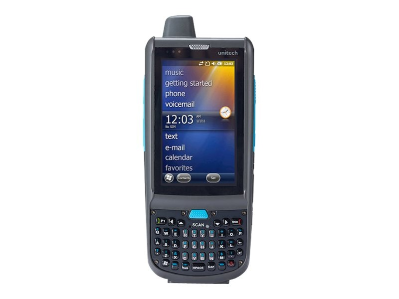 Unitech PA692 Mobile Computer, Laser, Qwerty, Camera, GPS, GPRS
