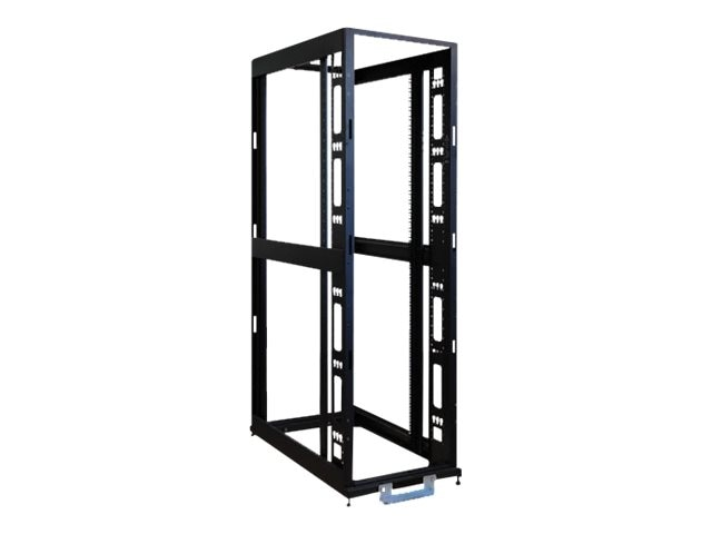 Tripp Lite 45U 4-Post SmartRack Premium Open Frame Rack w o Sides Doors Roof