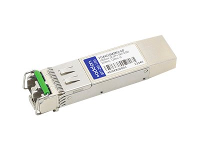 ACP-EP Finisar 10GBase-ZR SFP+ Transceiver, TAA, FTLX4213M3BCL-AO