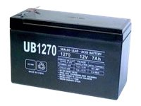 Ereplacements Sealed Lead Acid Battery 12V 7Ah, UB1270-ER, 14935472, Batteries - Other