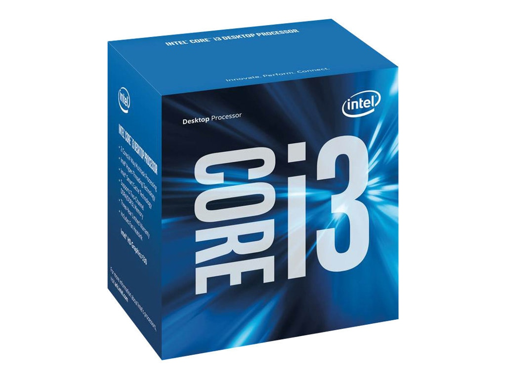 Intel Processor, Core i3-6300T 3.3GHz 4MB 35W, Boxed, BX80662I36300T