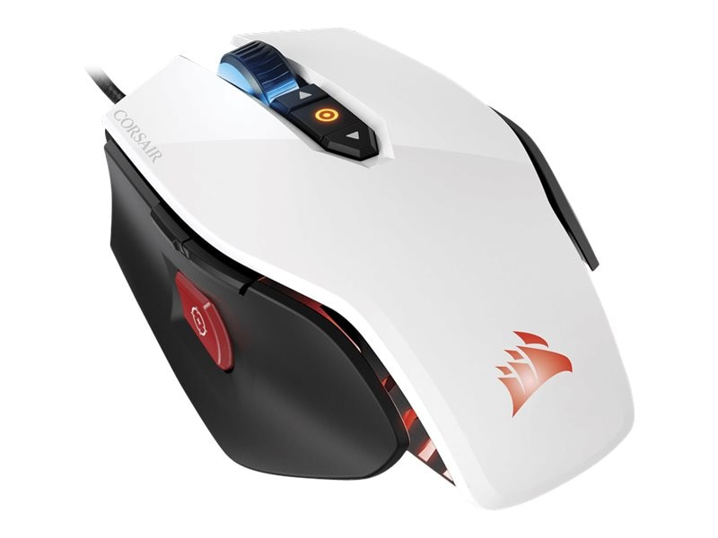 Corsair M65 Mouse RGB FPS, White, CH-9000110-NA, 30698315, Mice & Cursor Control Devices