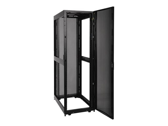 Tripp Lite SmartRack Shallow Depth Premium Enclosure, 42U, Doors, Side Panels, SR42UBSD