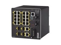 Cisco 20-Port Industrial Ethernet 2000 Series Switch, IE-2000-16TC-B, 14994448, Network Switches