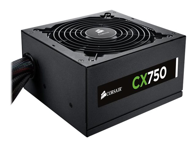 Corsair CX750 ATX Power Supply 80-Plus Bronze, CP-9020015-NA, 14747578, Power Supply Units (internal)
