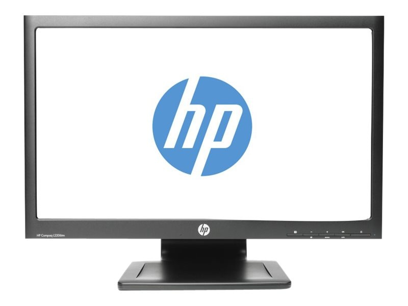 Open Box HP 22 L2206tm LED-LCD Touchscreen Monitor, Black, B0L55A8#ABA, 15062212, Monitors - LED-LCD