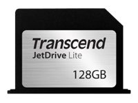 Transcend 128GB JetDriveLite Flash Expansion Card for RMBP 15 L13, TS128GJDL360, 17714616, Memory - Flash
