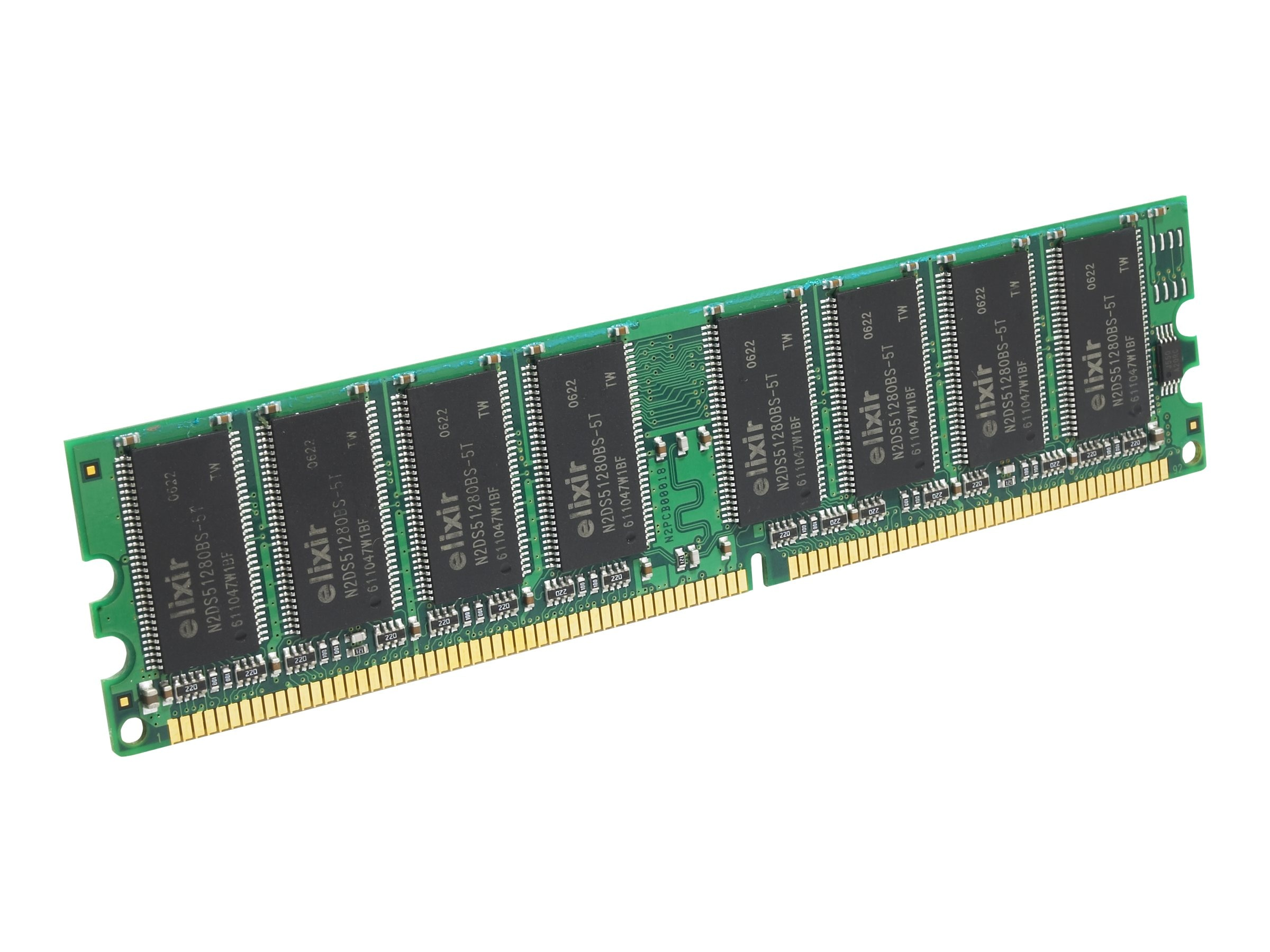Edge 512MB PC2700 184-pin DDR SDRAM UDIMM, PE187910, 370212, Memory