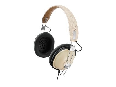 Panasonic Retro-Style Monitor Headphones, Cream, RP-HTX7-C1, 14851990, Headphones