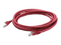 ACP-EP Cat6 Snagless Molded Patch Cable, Red, 7ft