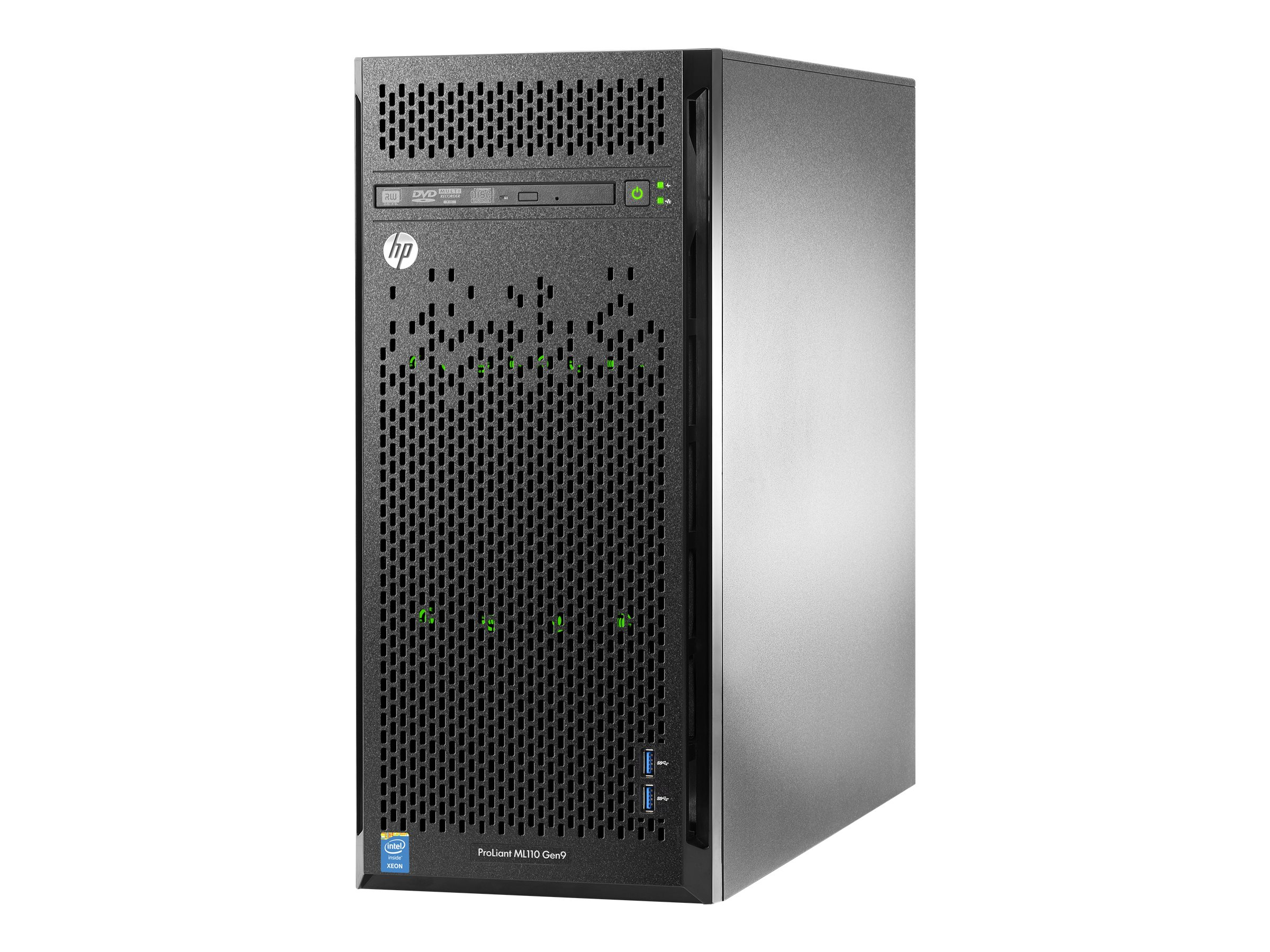 HPE ProLiant ML110 Gen9 Intel 2.4GHz Xeon, 777161-001, 20592664, Servers