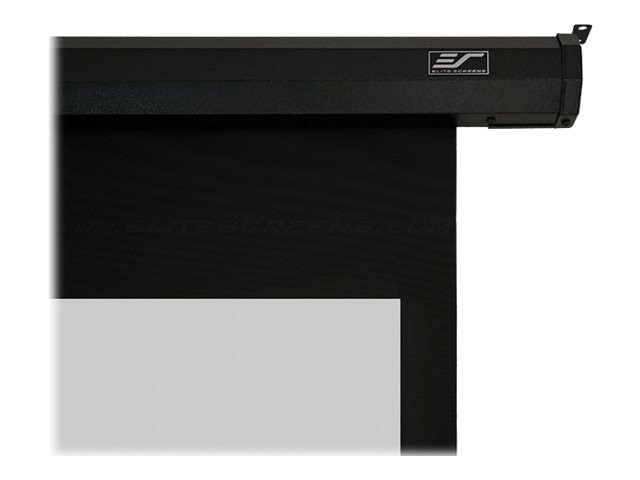 Elite Spectrum Electric Projection Screen with Black Case, Matte White, 16:9, 125in, ELECTRIC125H