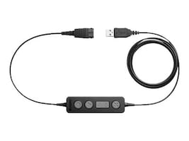 Jabra Link 260 USB to QD w  Controller, 260-09, 19854014, Phone Accessories