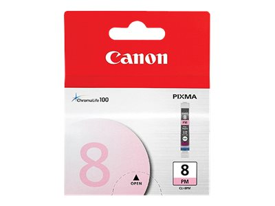 Canon Photo Magenta CLI-8PM Ink Tank for PIXMA iP6600D Printer, 0625B002, 6049551, Ink Cartridges & Ink Refill Kits