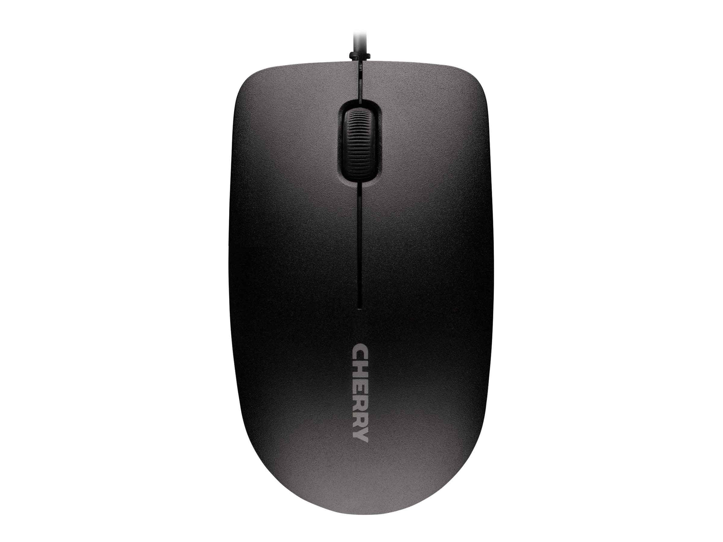 Cherry MC 1000 USB Mouse, 3-Button, 1200dpi, Black, JM-0800-2