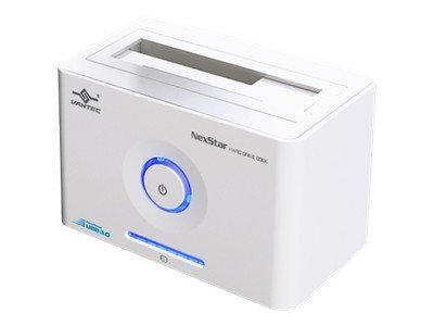 Vantec NexStar Hard Drive Dock SuperSpeed - White, NST-D300S3