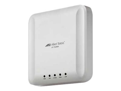 Allied Telesis Enterprise-class Wireless Access Point IEEE 802.11ac 3ss Dual-Band 2.4 5GHz Radio, Embedded Antenna