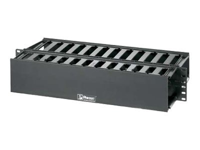 Panduit 3 x 3 PatchLink Horizontal Cable Manager, WMP1E, 6925506, Premise Wiring Equipment