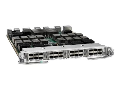 Cisco Nexus 7700 F3-Series 24-Port 40GBE QSFP, N77-F324FQ-25