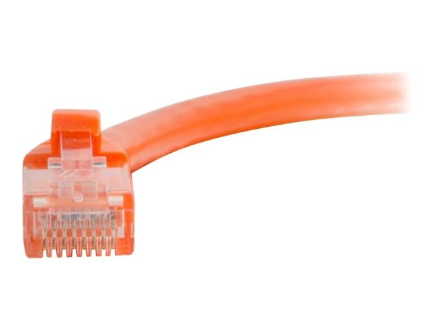 C2G Cat5e Snagless Unshielded (UTP) Network Patch Cable - Orange, 3ft, 00442