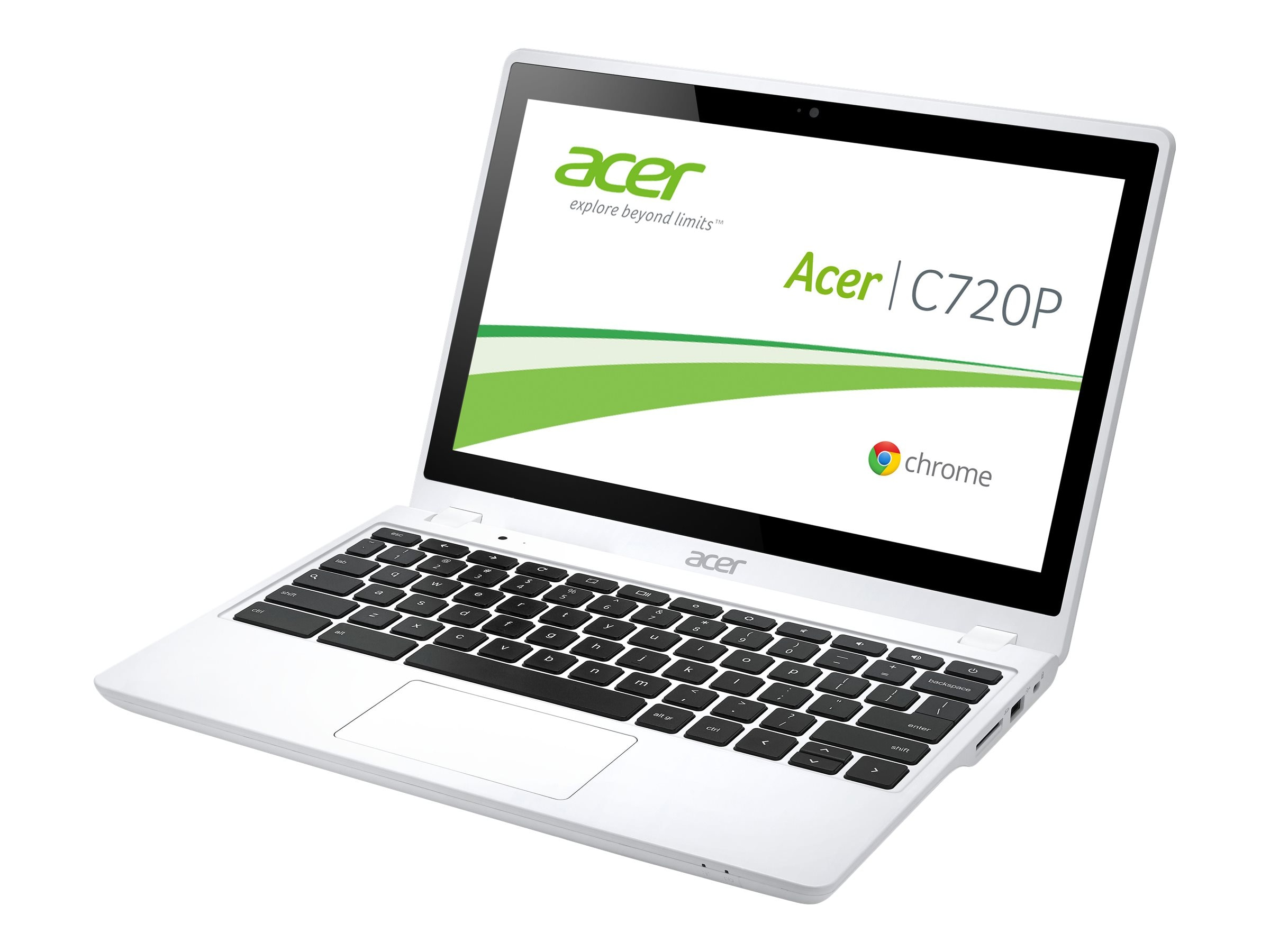 Acer Chromebook C720P-2457 1.4GHz Celeron 11.6in display, NX.MKEAA.005, 17376215, Notebooks