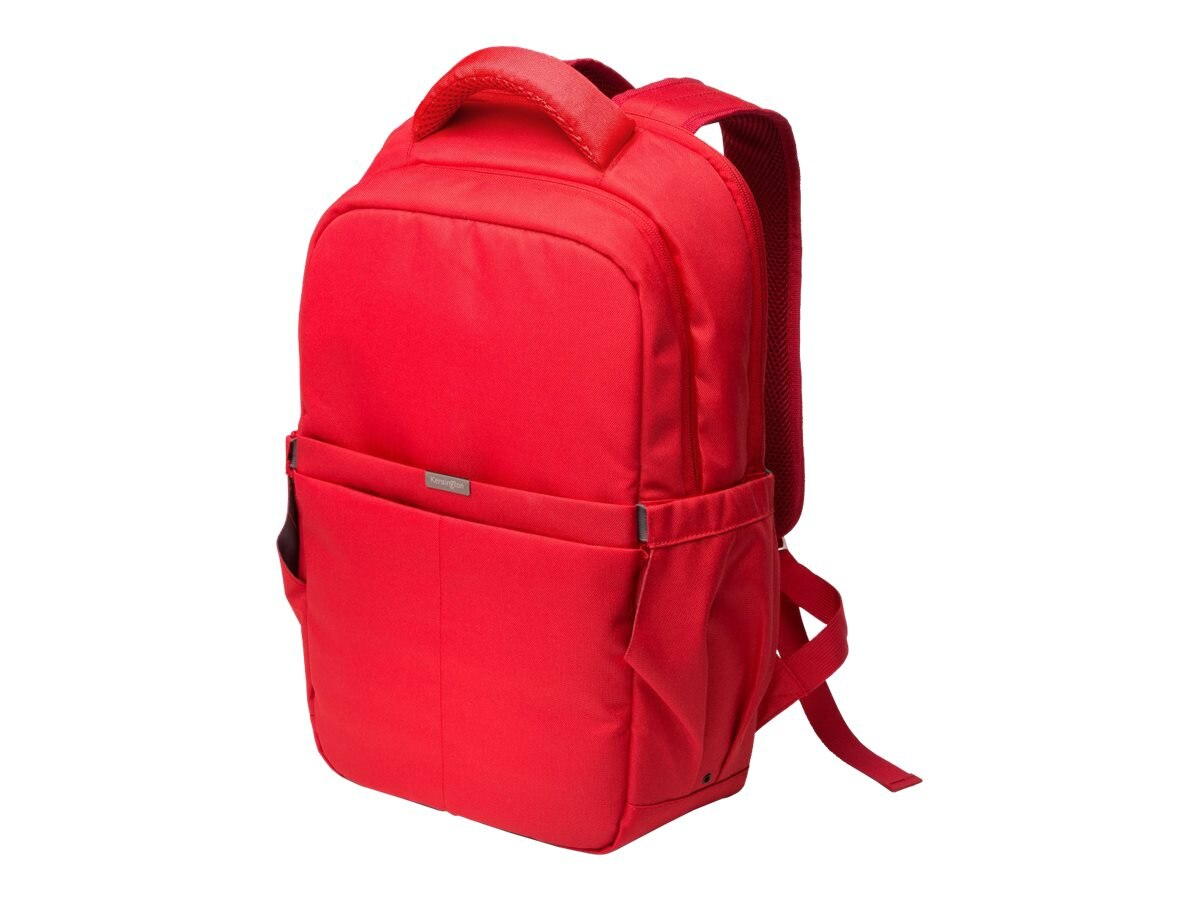 Kensington LS150 Notebook Carrying Backpack 15.6, Red, K98600WW, 18109119, Carrying Cases - Notebook