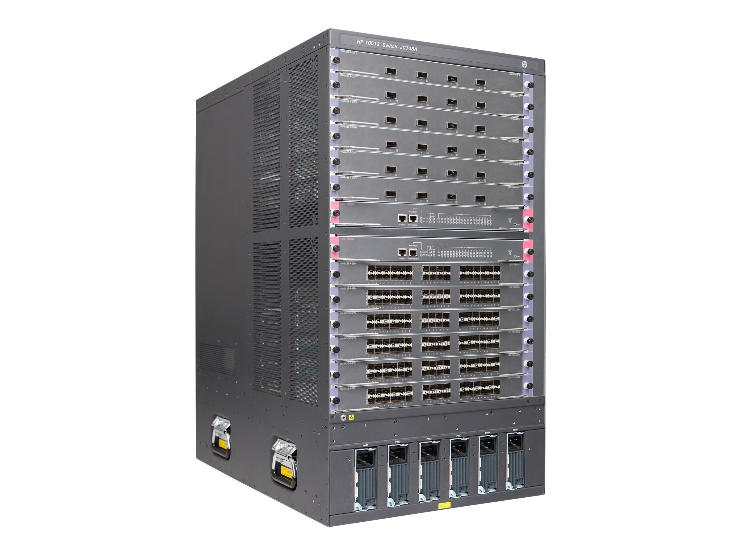 HPE 10512 Switch Chassis, JC748A, 14440509, Network Switches