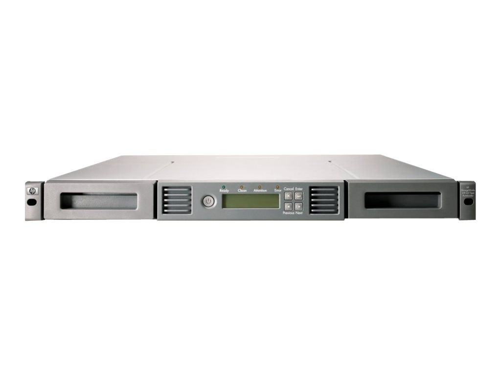 HPE StoreEver 1 8 G2 LTO-6 Ultrium 6250 FC Tape Autoloader, C0H19A