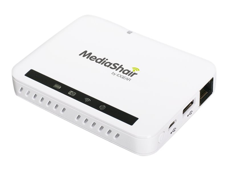 IOGEAR MediaShair 2 Wireless Media Hub and Power Station, GWFRSDU2