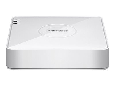 TRENDnet 4-Channel 1080p HD PoE NVR, TV-NVR104, 30623882, Video Capture Hardware