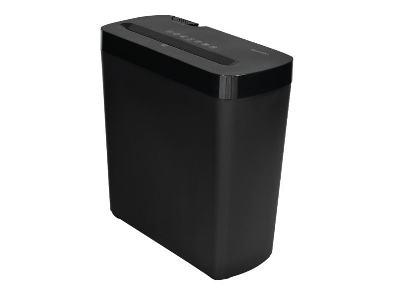 Gear Head 6-Sheet Cross Cut Paper Shredder - Black, PS600CX, 31174345, Paper Shredders & Trimmers