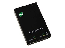 Digi TS 1 Port RS-232 RJ-45 Serial to Ethernet Device Server, 70002042, 9262154, Network Routers