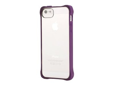 Griffin Survivor Clear Rugged case for iPhone 5, Purple