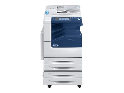 Xerox WC7225I MFP w  Stand, (2) 520 Sheet Trays & 50-Sheet Bypass Tray, 7225/P2I, 31854199, MultiFunction - Laser (color)