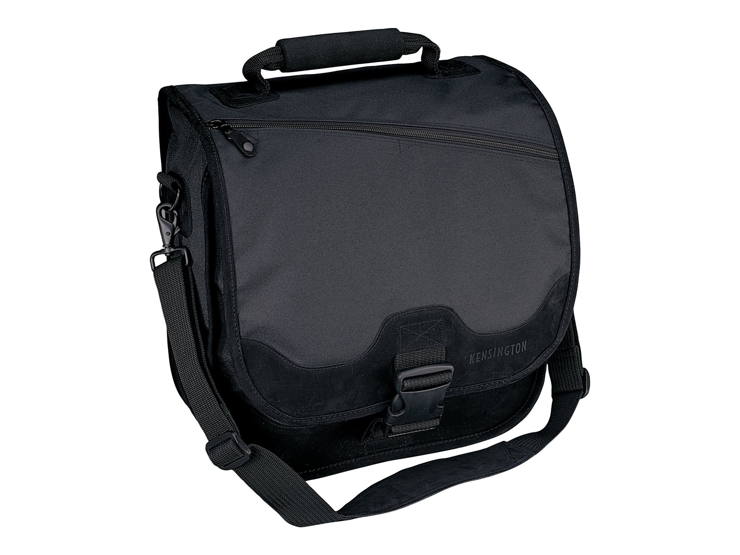 Kensington SaddleBag 15.6 Notebook Carrying Case, Black