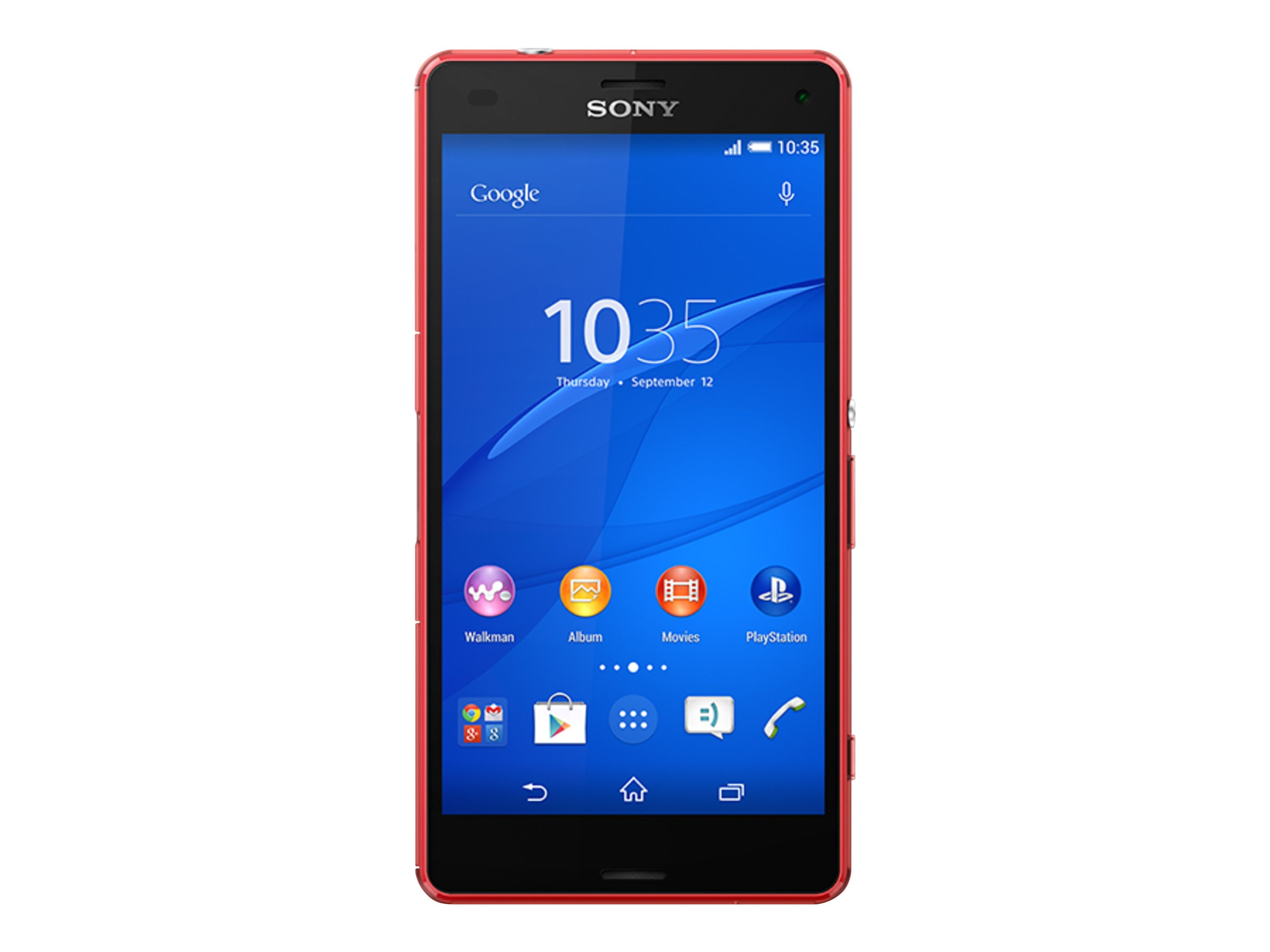Sony XPeria Z3 Compact LTE D5803 4.6 2.5GHZ 4CR 16GB 20.7MP NFC Phone - Green, 1290-0542, 17964501, Cellular Phones