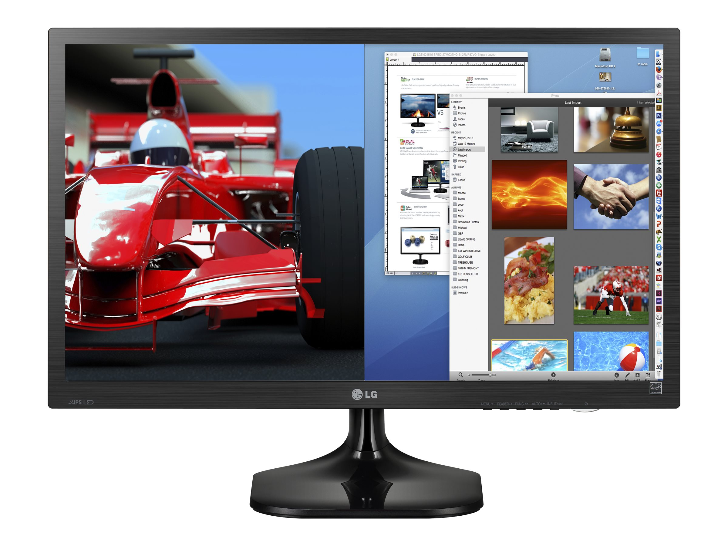 LG 27 MC37HQ-B Full HD LED-LCD Monitor, Black, 27MC37HQ-B, 18509948, Monitors - LED-LCD