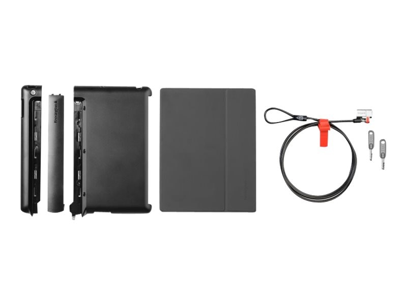 Kensington SecureBack Folio Case & Lock for New iPad iPad 2, K67753AM, 14652253, Carrying Cases - Tablets & eReaders